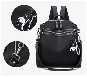 Oxford Backpack Multifunction Fashion Schoolbag