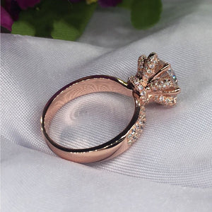 925 Sterling Silver Rose Gold Ring