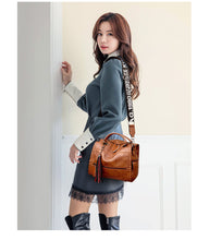 Load image into Gallery viewer, Vintage Crossbody Designer Handbag Genuine Leather