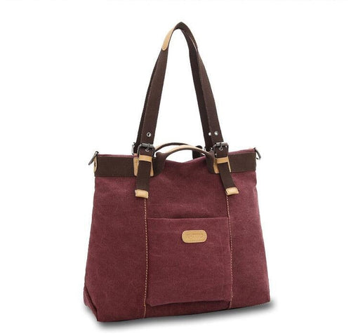 Women's Canvas Shoulder Bag
