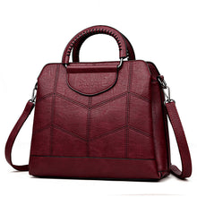 Load image into Gallery viewer, Women's Genuine Leather High Quality Vintage HandBag