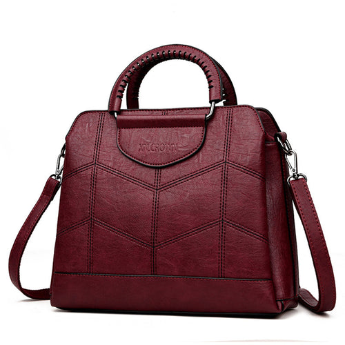 Women's Genuine Leather High Quality Vintage HandBag
