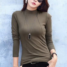 Load image into Gallery viewer, Basic Turtleneck Sweater Slim Winter Warm Autumn Shirt