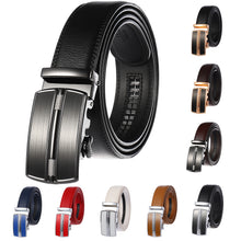 Load image into Gallery viewer, Automatic Buckle Genuine Leather Belt