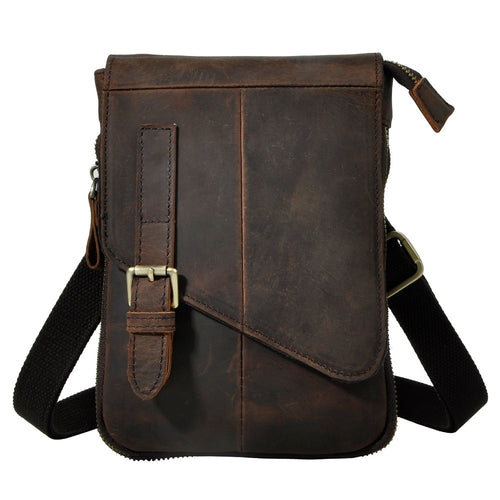 Real Leather Multifunction Waist Belt Pack/Shoulder Bag