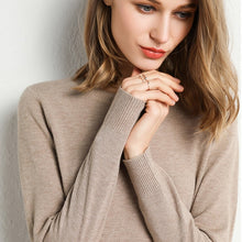 Load image into Gallery viewer, Sweater Pullover O Neck Winter Casual Knitwear