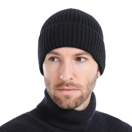 Winter Warm Thick Soft Casual Beanie