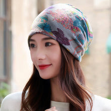 Load image into Gallery viewer, Cotton Fashion Beanie Bonnet