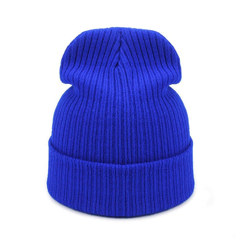 Autumn Winter Knitted Cap Beanies