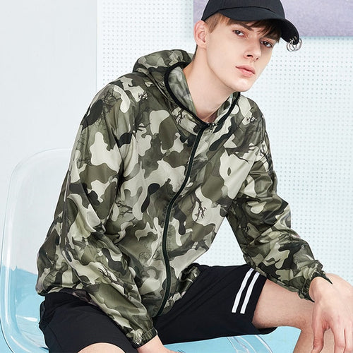 Men's Ultra Thin Camouflage Jacket