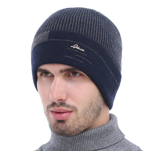 Men's Knitted Warm Beanie Hat