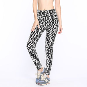 Ankle-Length Fashion Casual Elasticity Fitness Leggings