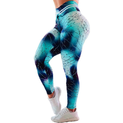Women Fitness Push Up Workout Leggings High Waist Elastic