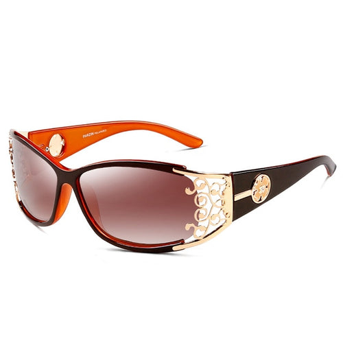 Vintage Sunglasses Polarized Hollow Lace Feminine Sunglasses