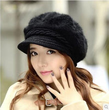 Load image into Gallery viewer, Fashion Winter Rabbit Fur Cap Beanie