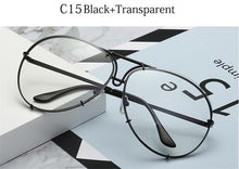 Load image into Gallery viewer, Black Pilot Gradient Shades Eyewear UV400  Sunglasses