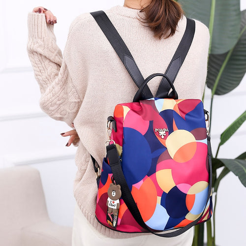 Multifunction Anti Theft Fashion Backpack/School Bag