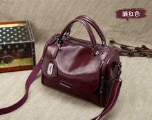Load image into Gallery viewer, Boston Genuine Leather Luxury Handbag