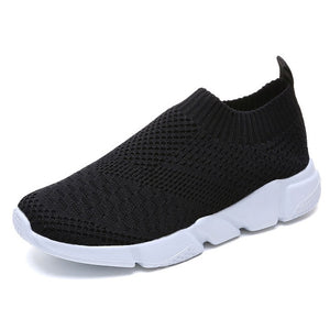 Casual Sneakers Breathable Slip On Flat Shoes