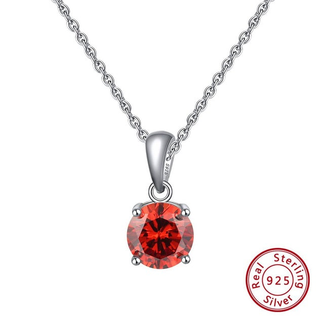 925 Sterling Silver Pendant Necklace For Women