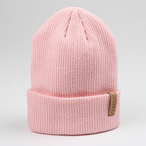 Women's Knit Beanie Cuff Hat