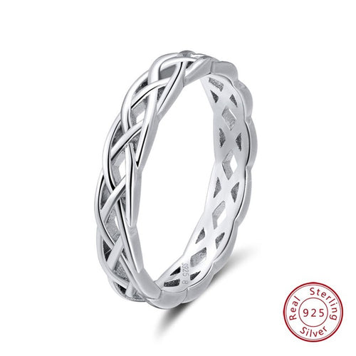 925 Sterling Silver Fine Jewelry Women's Ring