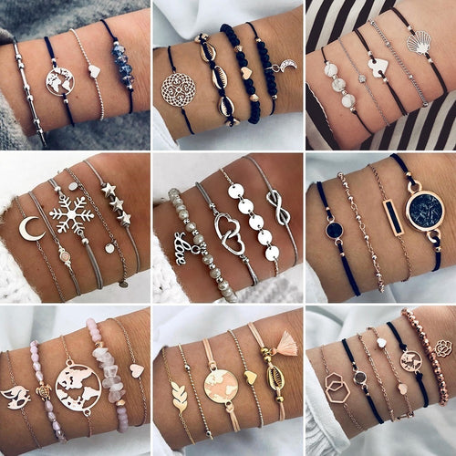 Bohemian Bracelets & Bangles Vintage Jewelry Accessories