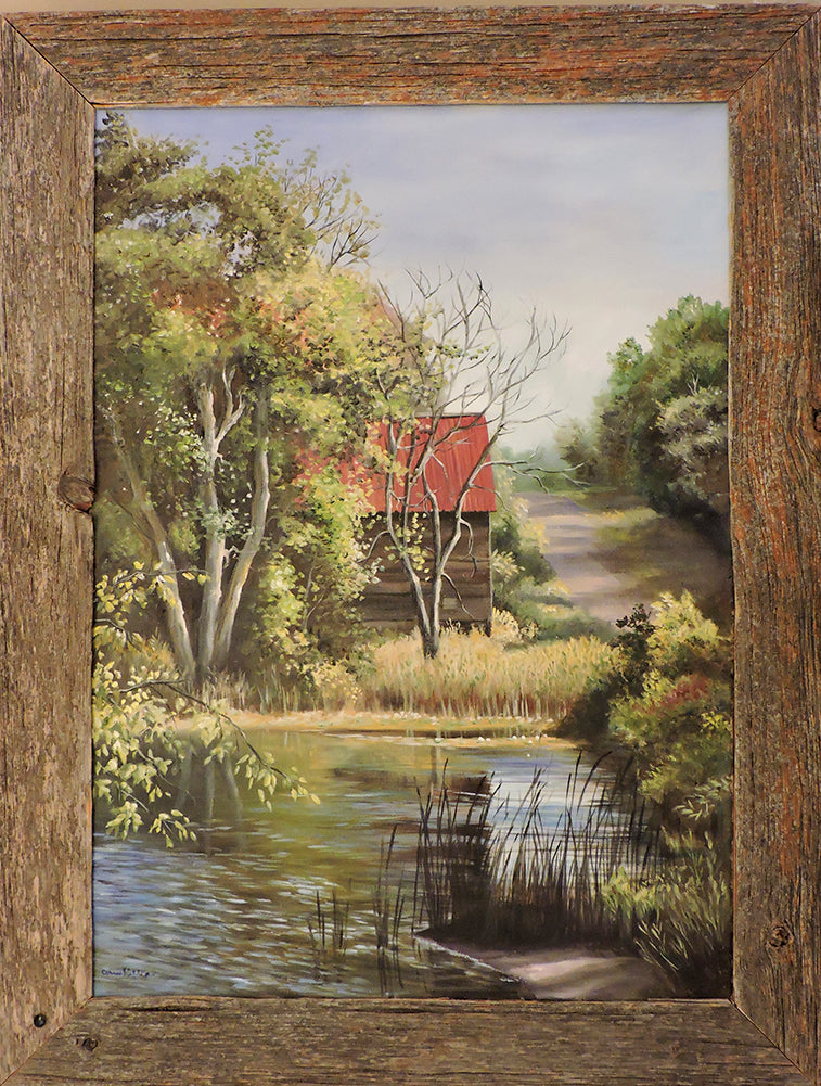 Cottage Country - Oil on Canvas