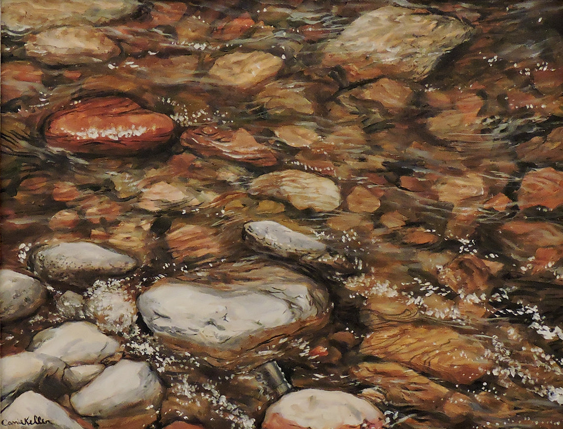 Water Effects - Oil Painting on Canvas