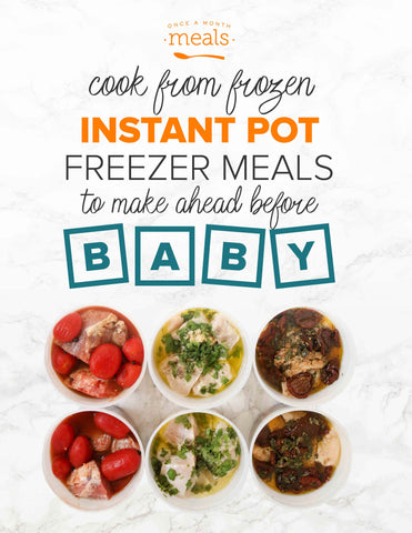 Instant Pot Freezer Meals Before Baby