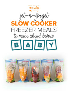 Slow Cooker Freezer Meals Before Baby