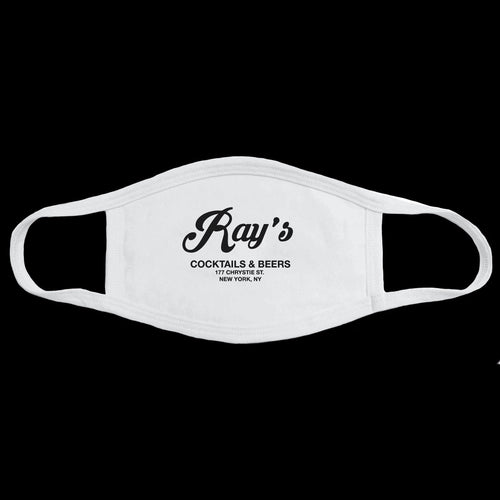 Ray's Face Mask - White