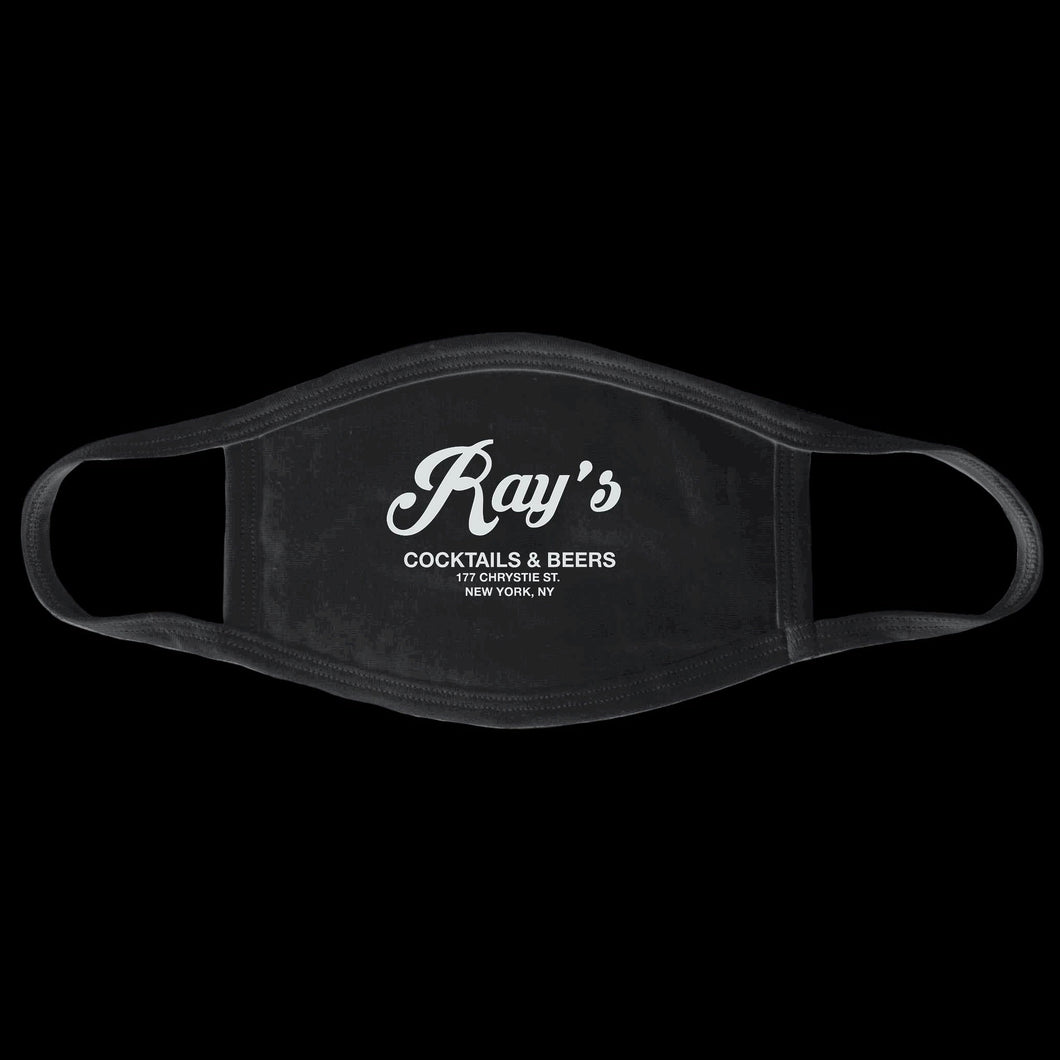 Ray's Face Mask - Black