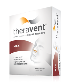 Theravent - Snoring Treatment (120pk) MAX