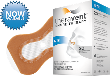 Theravent - Snoring Treatment (20pk) LITE