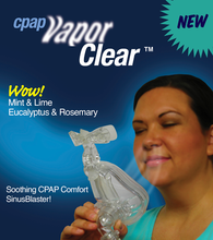 Load image into Gallery viewer, CPAP Vapor Clear Sinus Blaster