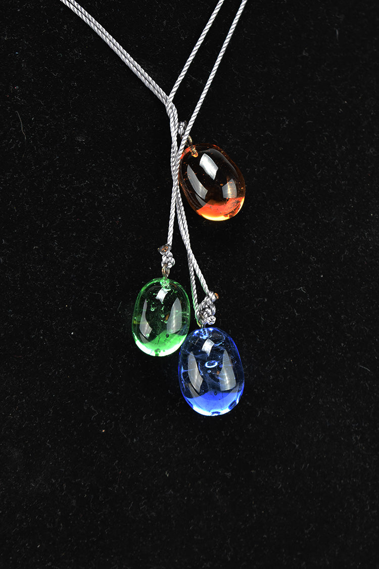 Jewel Tone Laureatte Necklace (12PAZ1018)