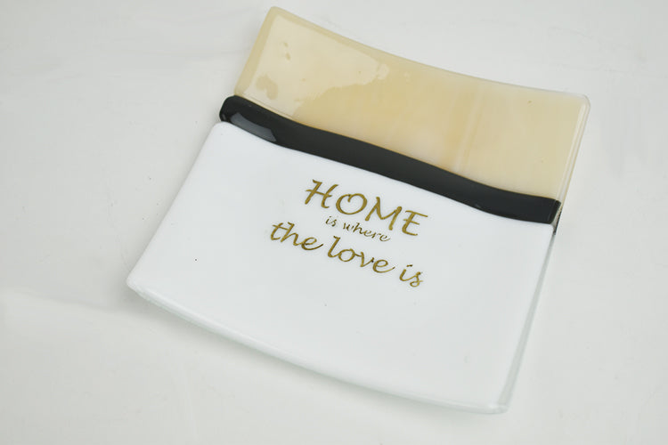 Home is where the love is plate (1AR220)
