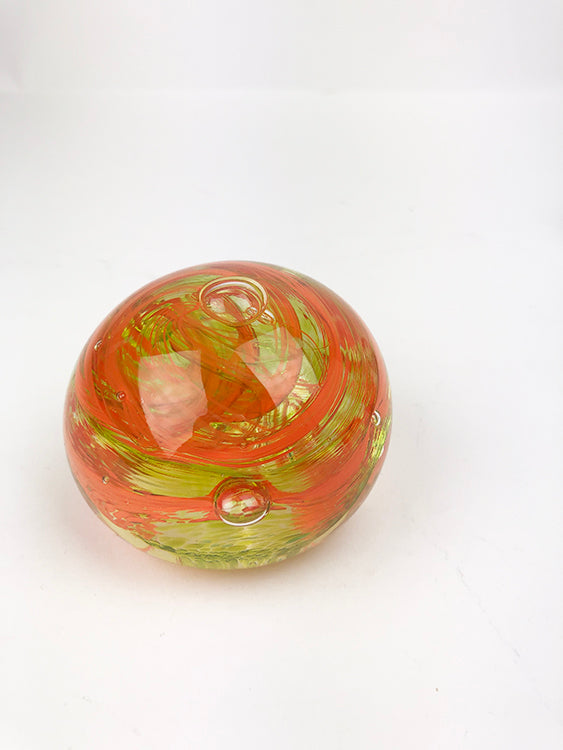 Orange and Lime Paperweight (1GR920)