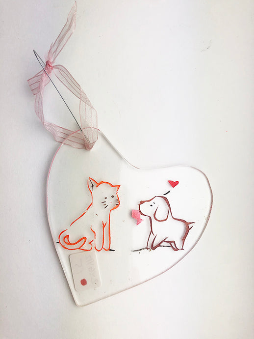 Dog and Cat Love Catcher (2YG412)