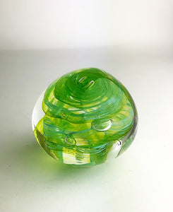 Green and Azure Paperweight (3GR2220)