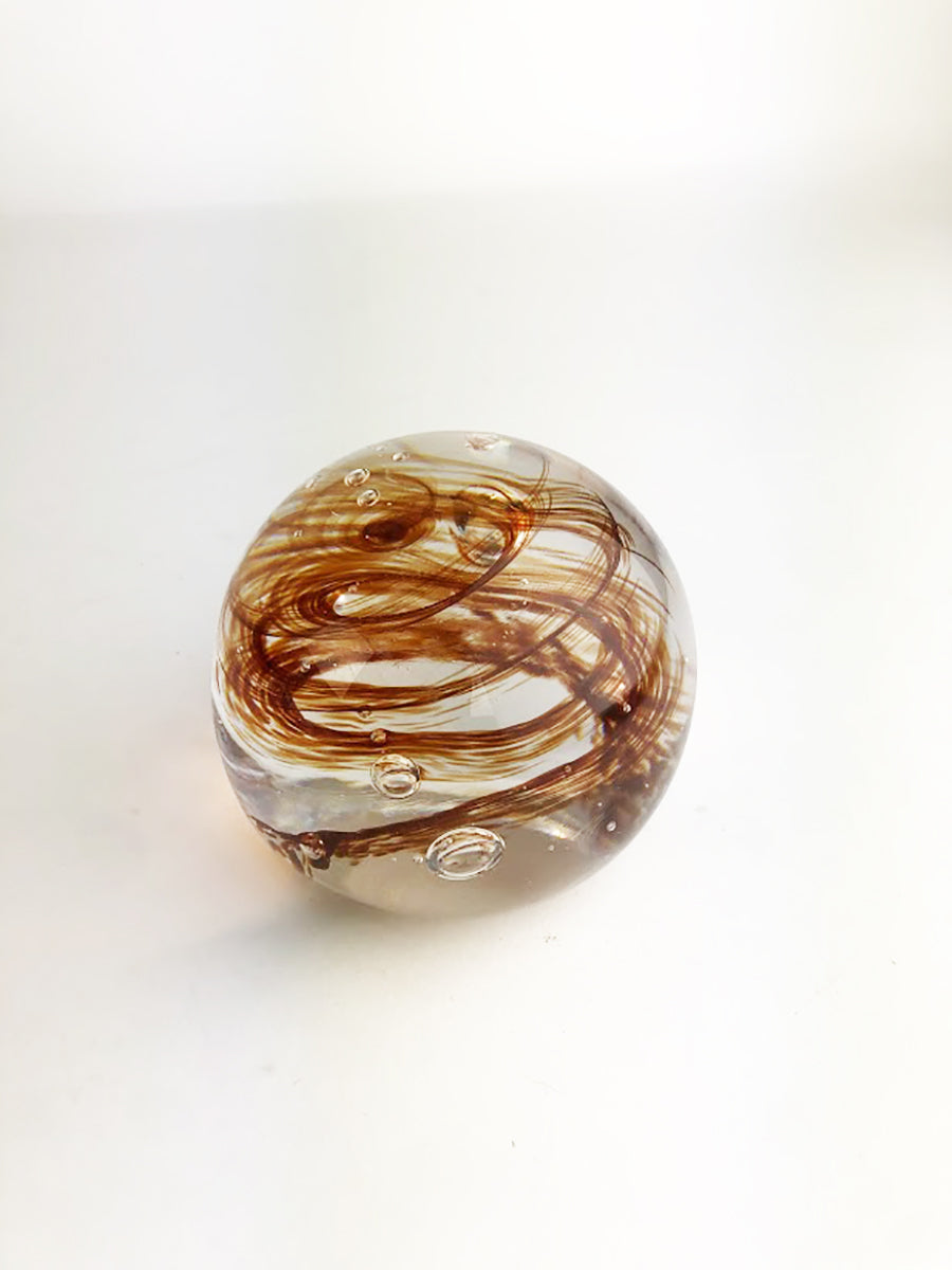 Red and Clear Paperweight (4GR1318)