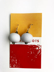 Matte Gray Earrings (5GR1019)