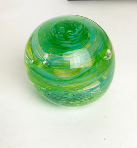 Blue and Green Paperweight (6GR1719)