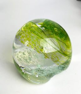 Green and Blue Paperweight (7GR1319)