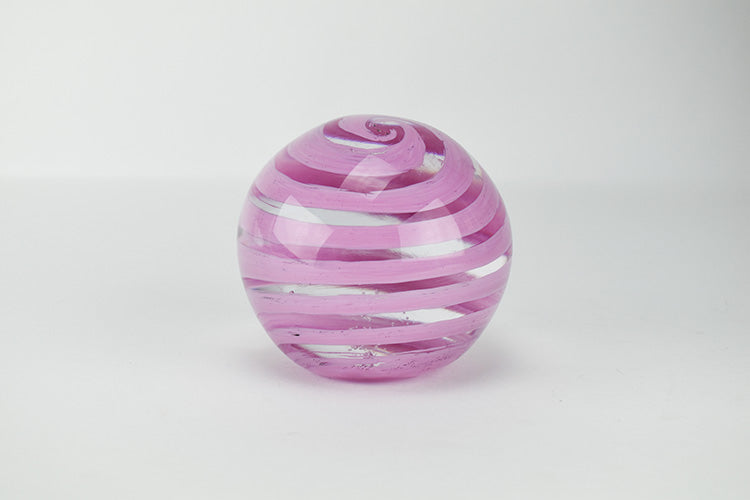 Pink and Clear Paperweight (9GR1219)