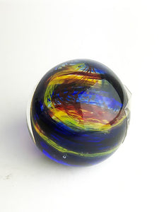 Yellow Red Blue Paperweight (9GR617)