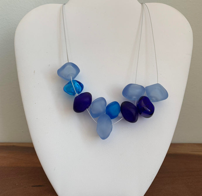 Blues - GlassRoots Signature Necklace