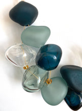 Load image into Gallery viewer, Deep Blue and Gray - GlassRoots Signature Necklace