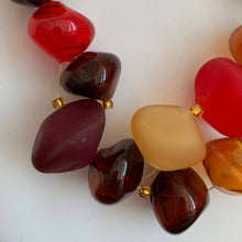 Load image into Gallery viewer, Deep Red - GlassRoots Signature Necklace